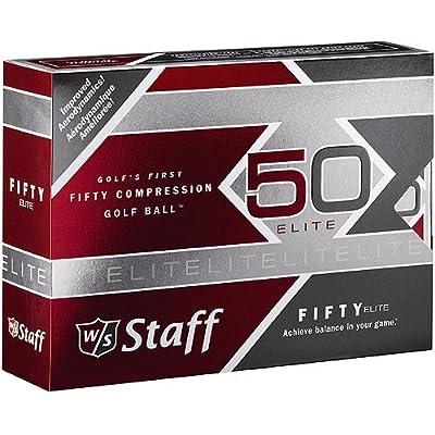 Wilson Sporting Goods W/S 50 Elite Golf Ball, 1 Dozen