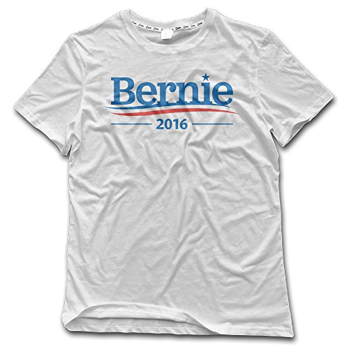Men's Bernie Sanders 2016 Presidential Candidate Adult Short-Sleeved T Shirt