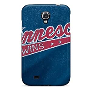 CADike Scratch-free Phone Case For Galaxy S4- Retail Packaging - Minnesota Twins