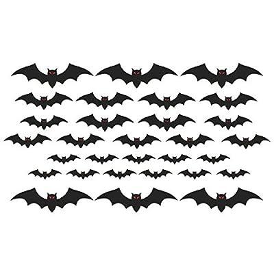 amscan Cemetery Bat Cutouts | Halloween Decoration: Toys & Games