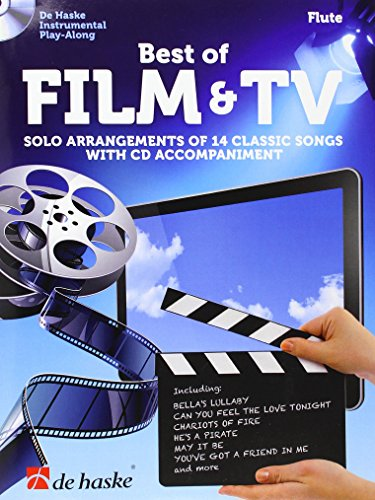 Best of Film & TV Querflöte: Solo Arrangements of 14 Classic Songs with CD Accompaniment
