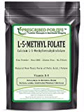 MethylFolate (L) - Natural 5-MethylTetraHydroFolate Vitamin B-9 Pure Folic Acid Powder, 0.5 oz