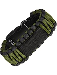 Survco Tactical SRV01G Replacement ParaCord Watch Band OD Green