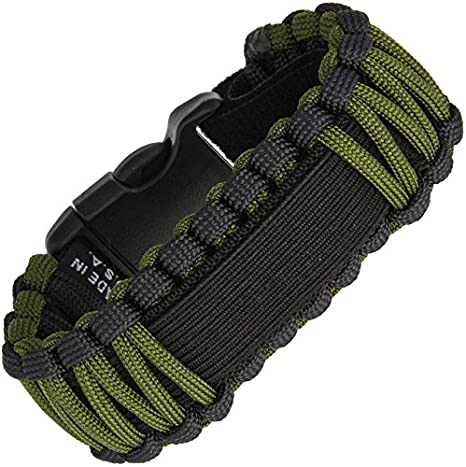42a70db5f0f Amazon.com  Survco Tactical para Cord Watch Band OD Green  Sports   Outdoors