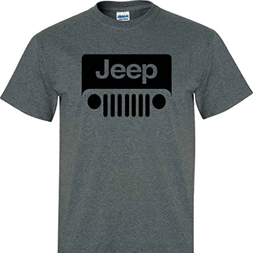 jeep-wrangler-logo-on-a-dark-heather-t-shirt