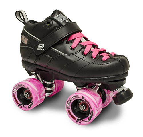 Sure-Grip ROCK GT50 TWISTER ROLLER SKATES W PINK TWISTER AND PINK LACE