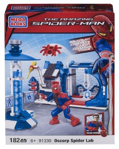 The amazing Spider-man Oscorp Spider Lab by Mega Bloks