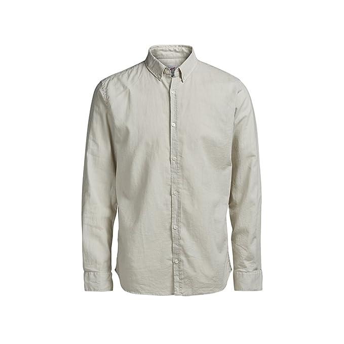 JACK /& JONES Jjeoxford Shirt L//S Noos Camicia Formale Uomo