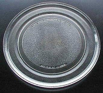 Sharp microondas de cristal Tocadiscos placa/bandeja 12 3/4 ...