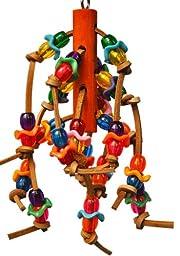 Bonka Bird Toys 1872 Tug Me Bird Toy parrot cage toys cages conure cockatiel lovebird