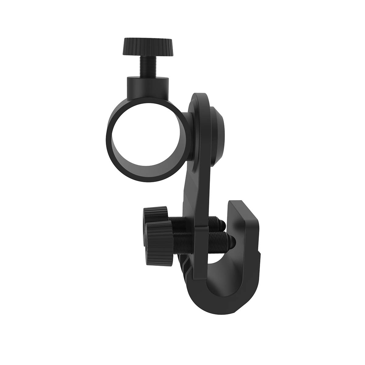 Weltool Helmet Torch Mount Holder - Work Torch Clamp Fit for 3M MSA V-GARD Hard Hat - Portable Plastic Torch Side Mount Torch Holder for Hard Hat - Light-weight Multi-angle