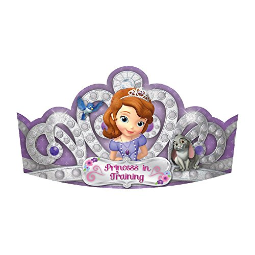 Sofia The First 734; Paper Tiaras (8