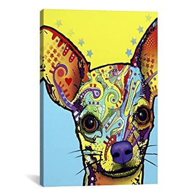 iCanvasART Chihuahua L Canvas Art Print by Dean Russo, 18 by 12-Inch