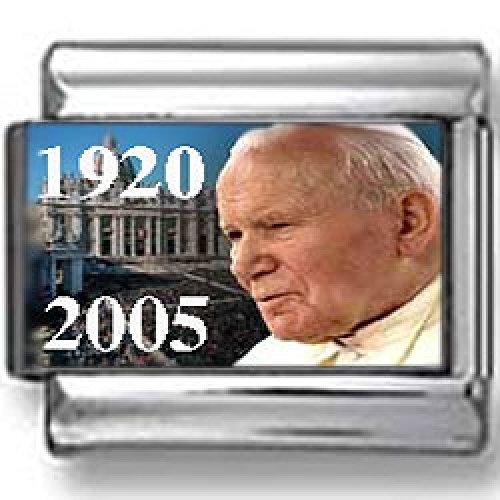 - Pope John Paul II in front of Vatican Italian charm