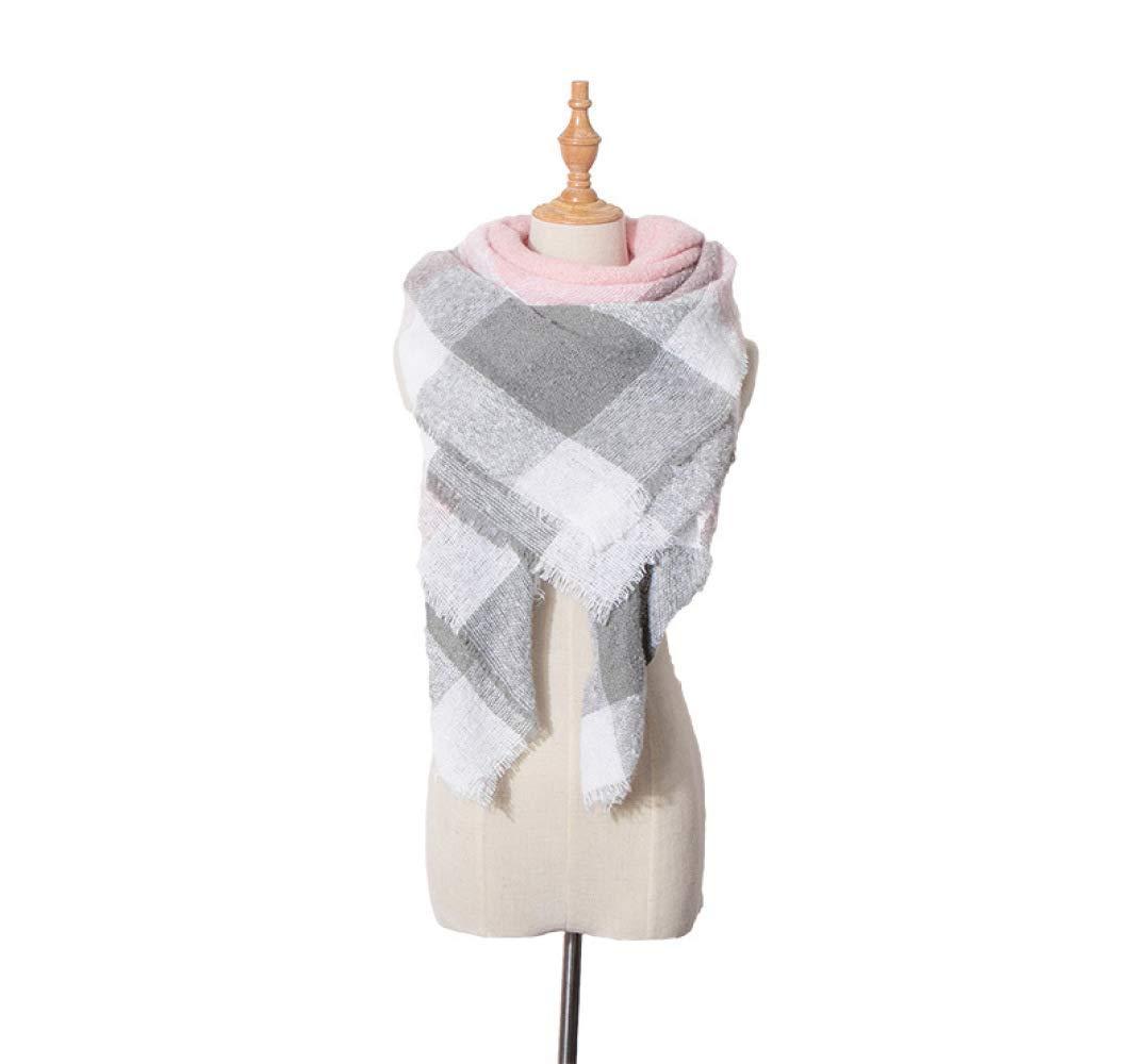 B Lingyuansale Spring d Autumn Winter Scarves, Warm Scarves, Shawls, Plaid Squares, Trigles, Scarves, Shawls Soft Women Scarf