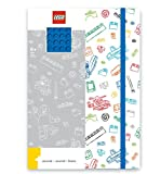 LEGO creative leisure - stationery - diary with a brick tray