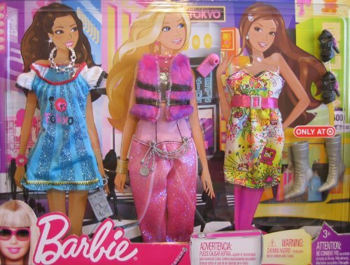 (Barbie Travel Fashions TOKYO - Target Exclusive)