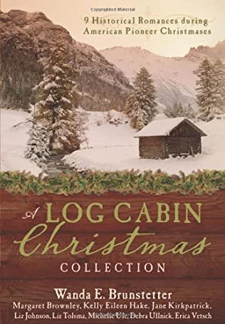 book cover of A Log Cabin Christmas
