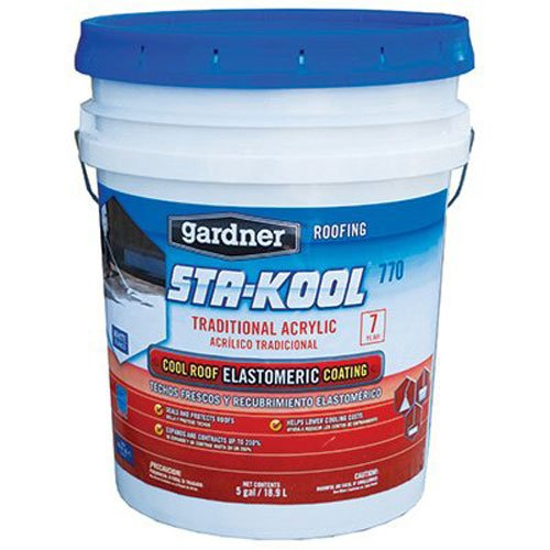 STA-Kool SK-7705 Traditional Acrylic Elastomeric Roof Coating