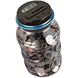 W.D Automatic Digital Coin Counter Money Jar,Automatic...