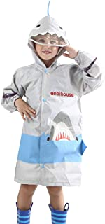 Hibote Poncho Portatile Impermeabile Dinosauro Impermeabile per Bambini 90-130 cm B181204KR5-X