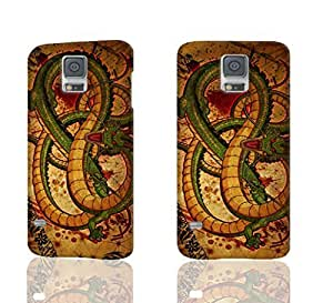 Chinese Dragon Photo Hard 3D Rough Case , Fashion Image Case Diy, Personalized Custom Durable 3d Case Regular Case For Samsung Galaxy S5 i9600