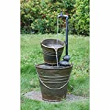 76cm Tap and Bucket Water Feature with Lights by Ambienté