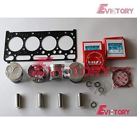 Amazon com: for Kubota V2203 V2203M Engine Oversize Piston