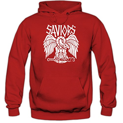 Tv Fun hoody red serien 6 Happenz Rot hoody F421 Hilltop Shirt Twd Signori Hoody wF0f6