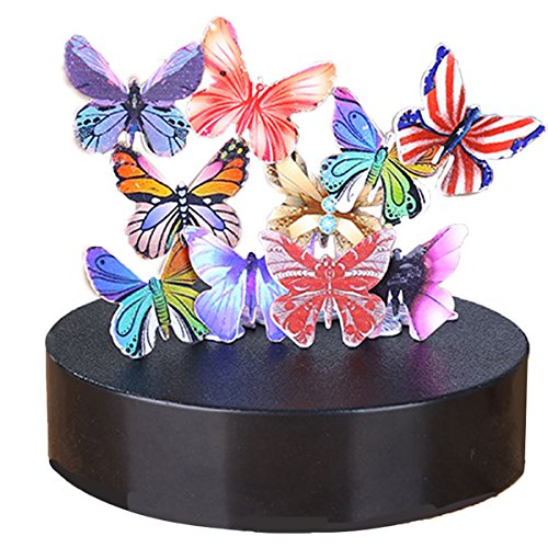 iPhyhe Magnetic Sculpture Desk Toy Stress Relief Intelligence Development (Butterflies)