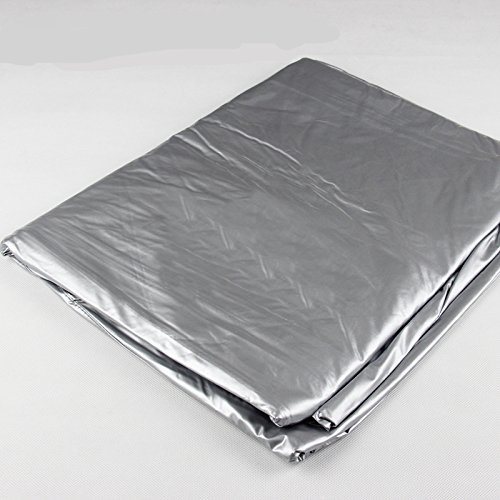 Indoor-Used Waterproof Dust-proof 7/8/9/10/12 Feet Table Cover for Snooker or Pool Table (8 feet) ()