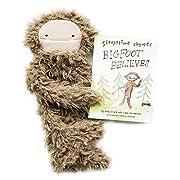 Slumberkins - BigFoot - Cuddly Creatures with Intention (Snuggler Bundle, Ultra Plush - Brown)