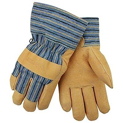 Revco Black Stallion 5LP Grain Pigskin Insulated Winter Work Gloves, L