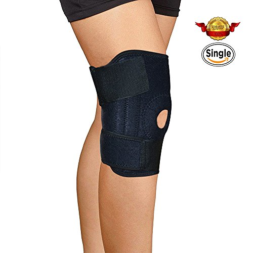 CFORWARD Knee Brace Support ideal for Arthritis, ACL, Running, Training, Sports, Strains (Neoprene Sports Knee Brace)