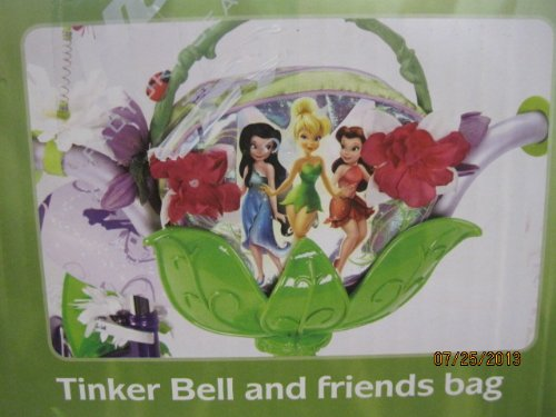 Buy New Disney Fairies Tinkerbell 12 INCH Bike with Training Wheels, Tinker Bell and Friends Bag, and Handlebar Butterfly Dancer – Huffy Model 22413 (online)