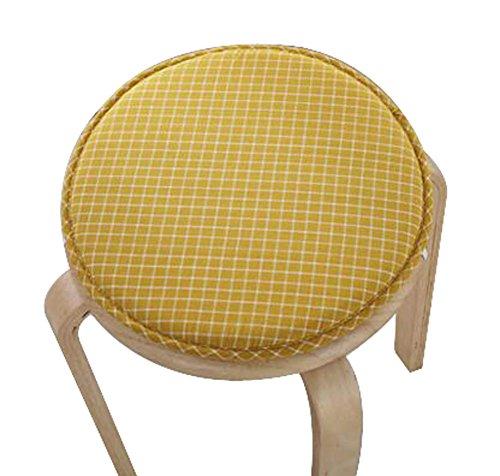 Cloth Cushion Round Stool Cushion Warm Sponge Pad Bar Stool Mat by Black Temptation