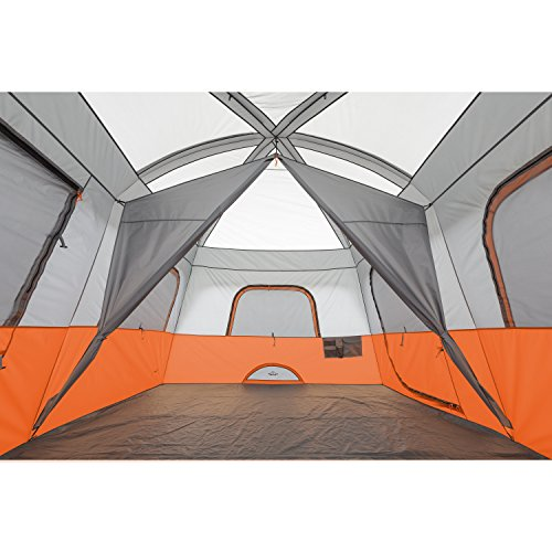 Core 10 Person Straight Wall Cabin Tent 14 X 10 With