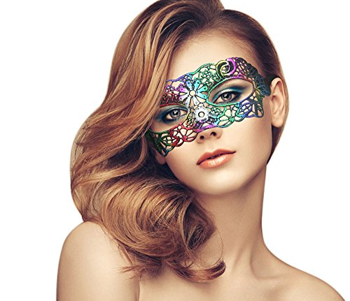 Exquisite High-end Lace Masquerade Mask (Mardi Gras Pictures Costumes)