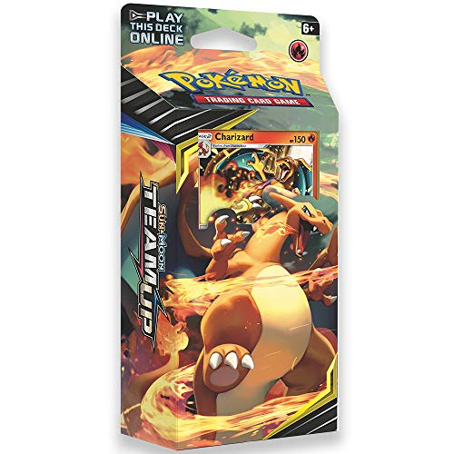 Pokemon TCG: Sun & Moon Team Up, Relentless Flame 60-Card Theme Deck Featuring A Promo Charizard