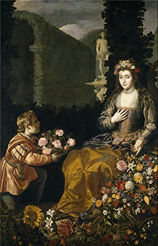 Costume Gallery Costumes 2016 (Oil Painting 'Hamen Y Leon Juan Van Der Offering To Flora 1627 ' Printing On High Quality Polyster Canvas , 12 X 19 Inch / 30 X 48 Cm ,the Best Kitchen Artwork And Home Gallery Art And Gifts Is This Imitations Art DecorativeCanvas Prints)