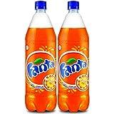 Coca-Cola Fanta Orange Flavoured Fridge Pack 1.25L (Pack Of 2)