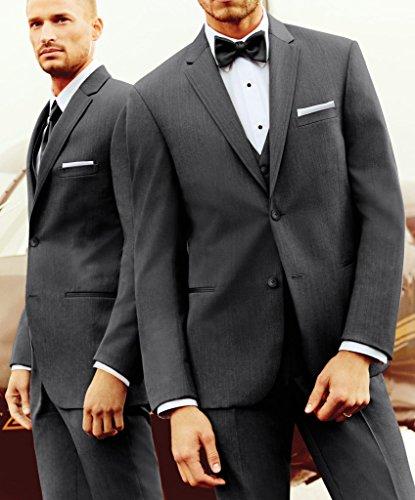 Suit Me costume 3 pi¨¨ces pour classique deux ¨¤ Hommes Epoux Vestons boutons fumer blazer veste pantalon