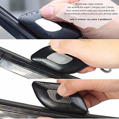 Respirador de la escobilla del limpiaparabrisas del coche, reparación del limpiaparabrisas de la tira del parabrisas / herramienta del arreglo: Amazon.es: ...