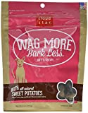 Cloud Star Wag More Bark Less Soft Chewy All Natural Sweet Potato Dogs Treats 6z