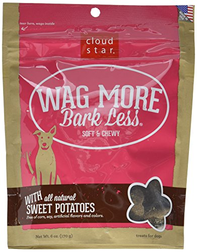 Cheap Cloud Star Wag More Bark Less Soft Chewy All Natural Sweet Potato Dogs Treats 6z