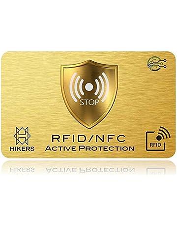 Tarjeta Anti RFID/NFC protección Tarjeta de Crédito sin Contacto, 1 suffit, Finito