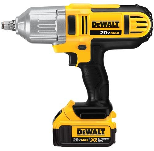 DEWALT 20V MAX Impact Wrench, High Torque, Hog Ring Anvil, 1 2-Inch DCF889HM2
