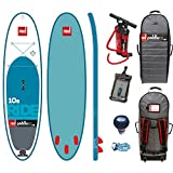Red Paddle Co RIDE MSL 10'8 x 34'' (2017 Series) Includes Bundle. Titan Pump - Backpack - ERS Pressure Gauge + Pumped Up SUP Sticker