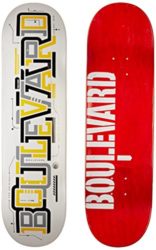 オフェンス足枷ステンレスBlvd Skateboards Transit Team Deck, 8-Inch by Blvd Skateboards