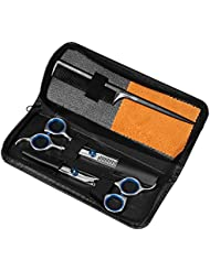 Professional Hair Cutting Scissors Barber Shears Set...